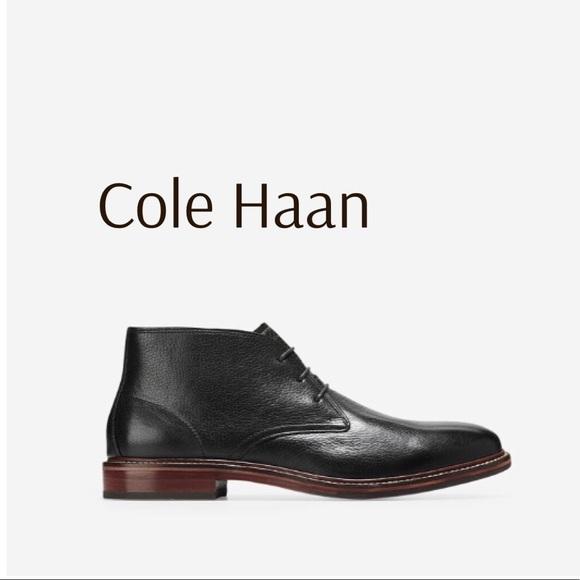 Cole Haan Other - Cole Haan Barron Chukka Black